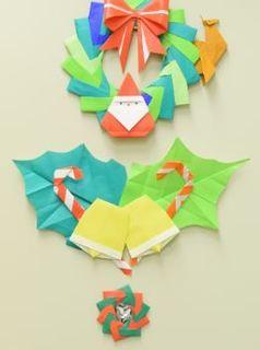 折り紙のリース.JPG